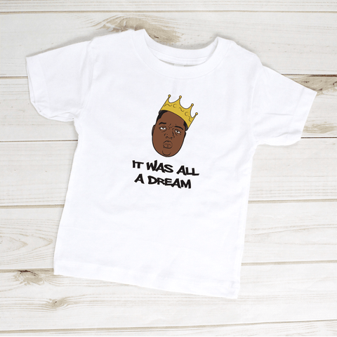 Image of Kids Shirt - It Was All A Dream Biggie Smalls