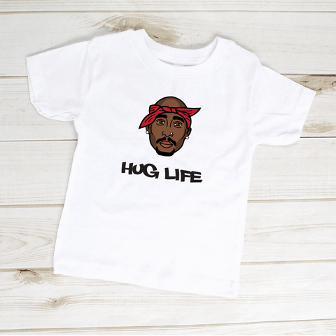 Image of Hug Life Tupac Toddler Shirt