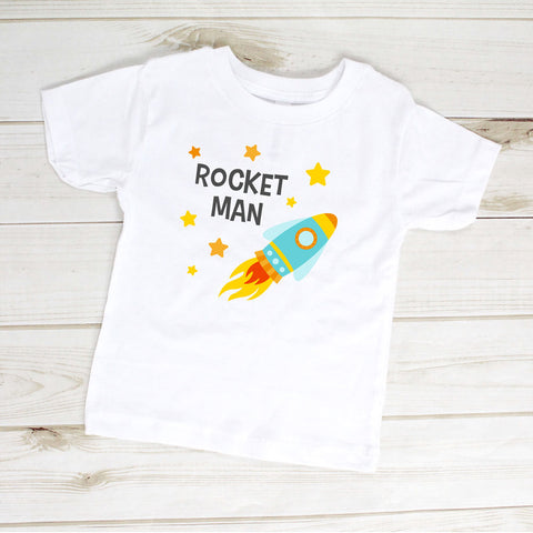 Image of Toddler Shirt - Rocket Man Elton John