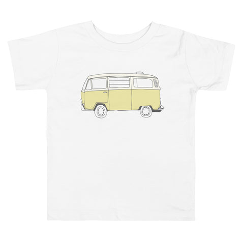 Toddler Shirt - Volkswagen VW Surf Bus Classic Car