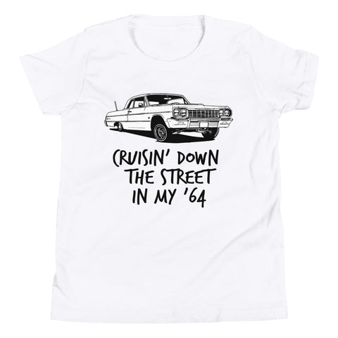 Kids Shirt - Cruisin' Down The Street In My 64