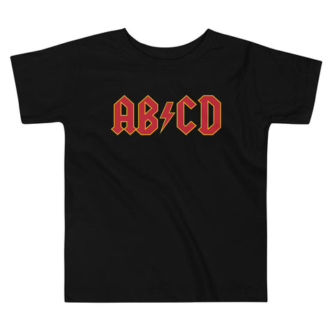 Image of Toddler Shirt - ABCD Rock Star