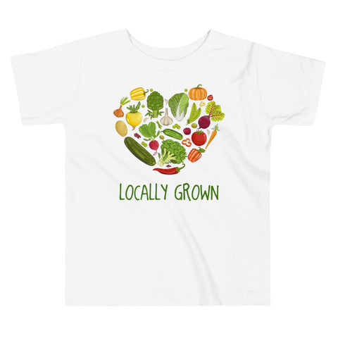 Image of Toddler Shirt - Locally Grown Farmer Vegetables