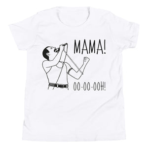 Kids Shirt - Freddie Mercury Mama Ooh Queen Band