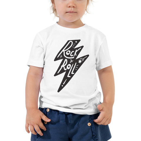Toddler Shirt - Rock and Roll Lightning