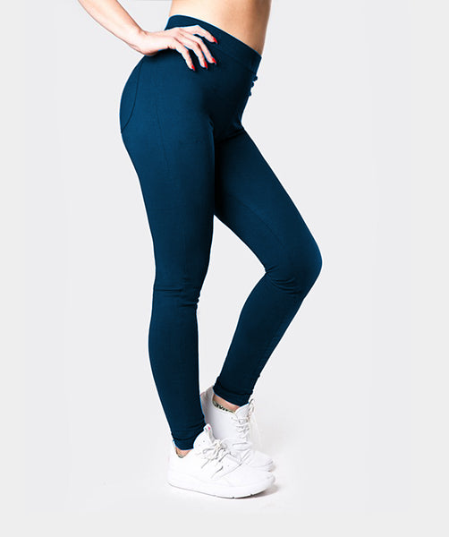 Gymify Fit Leggings - Charcoal Pink