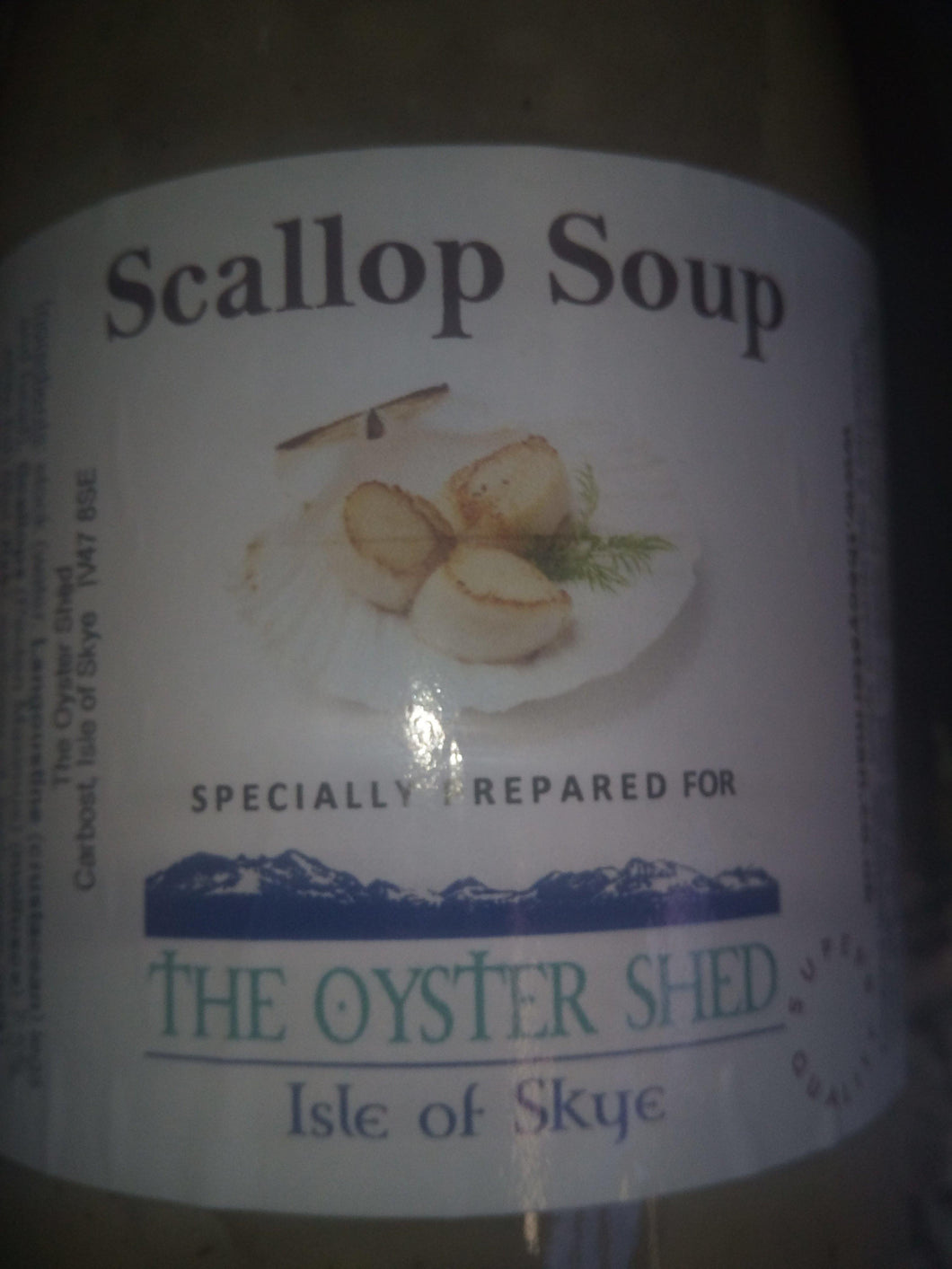 Scallop Soup - The Oyster Shed