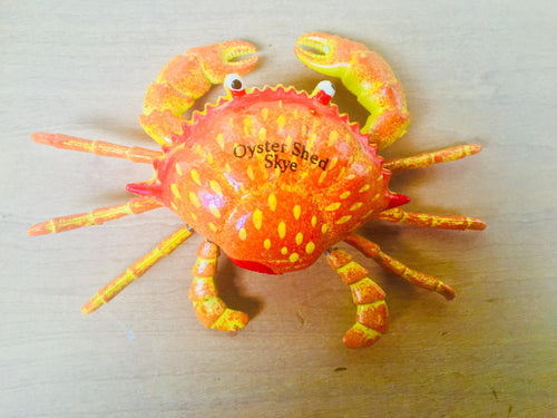 Wobbly Crab Fridge Magnet