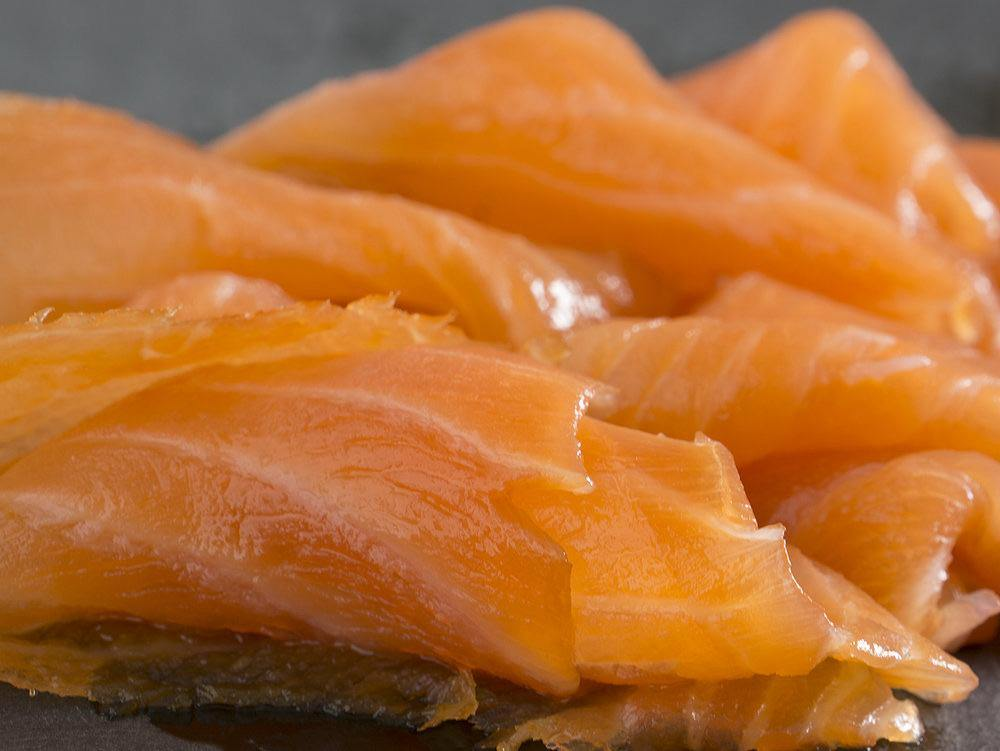 Portsoy Cold Smoked Salmon 200g - The Oyster Shed