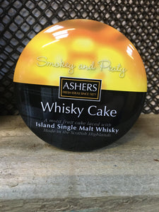 Island Single Malt Whisky Cake