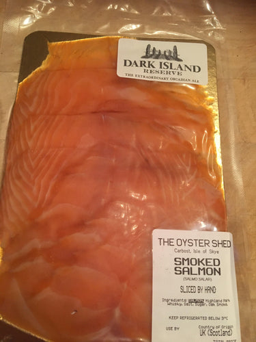 Dark Island Ale Cold Smoked Salmon