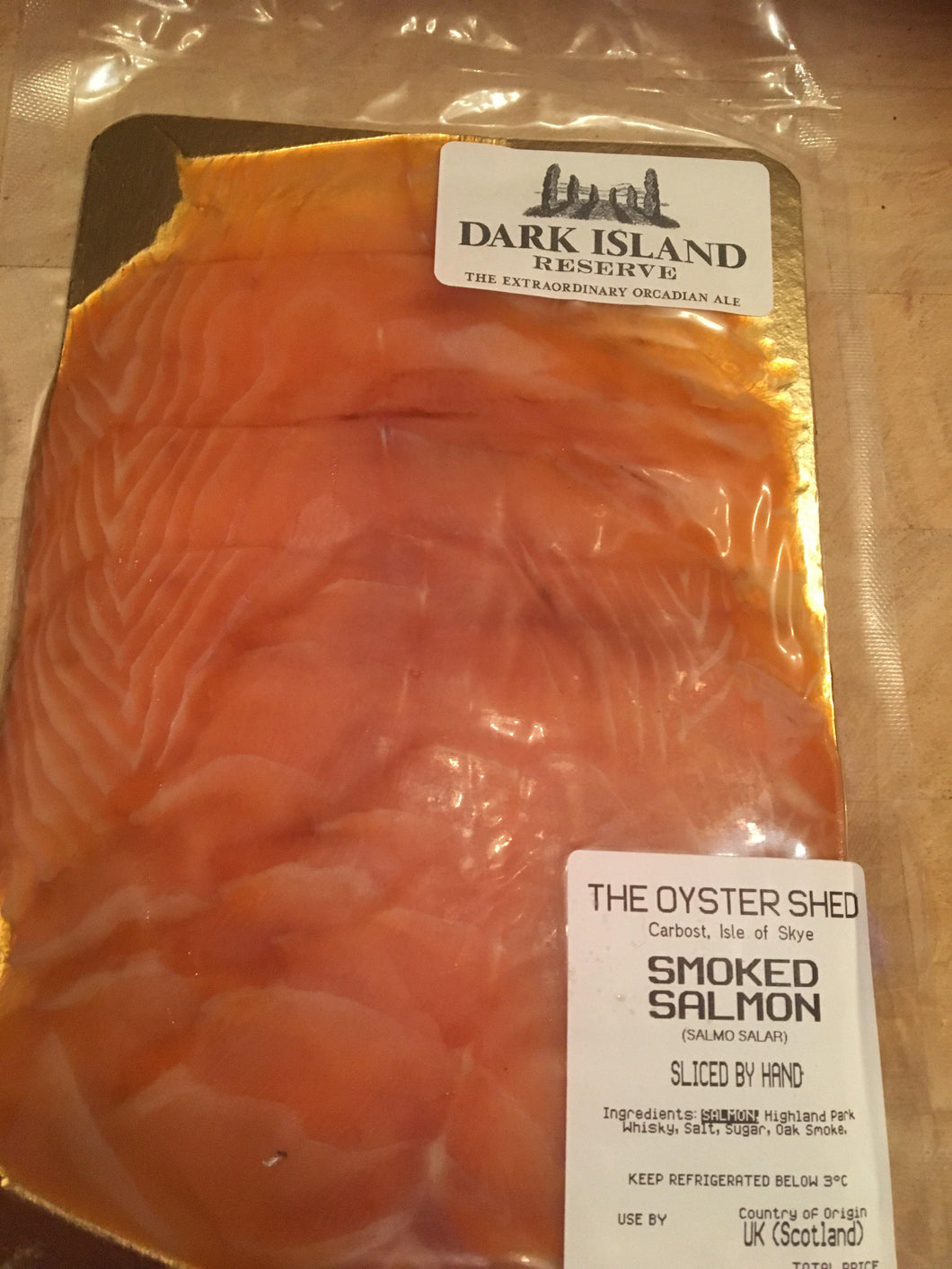 Dark Island Ale Cold Smoked Salmon - The Oyster Shed