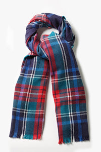 Tartan Blanket Scarf - The Oyster Shed