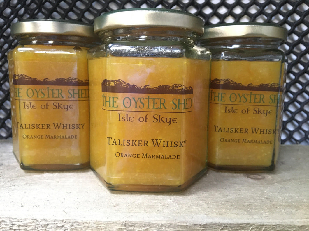 Talisker Whisky Orange Marmalade - The Oyster Shed