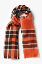 Load image into Gallery viewer, Tartan Blanket Scarf - The Oyster Shed