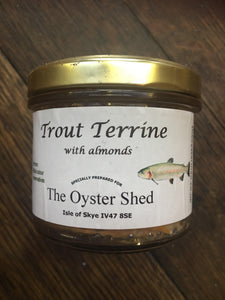 Trout Terrine with Almonds - The Oyster Shed