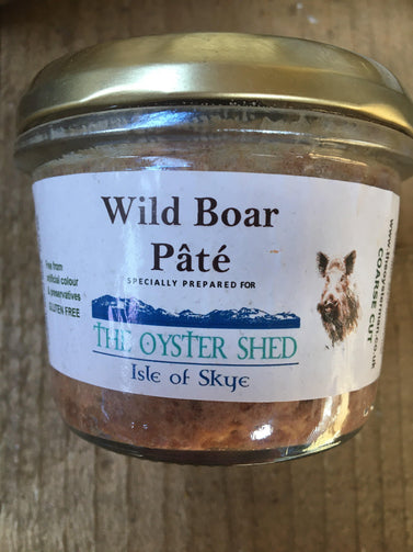 Wild Boar Pate - The Oyster Shed