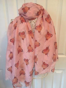 Highland Cow Scarf - The Oyster Shed