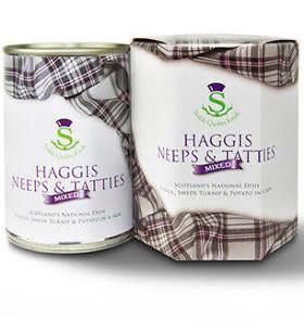 Haggis Neaps and Tatties Gift Tin - The Oyster Shed