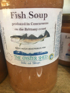 Fish soup - The Oyster Shed