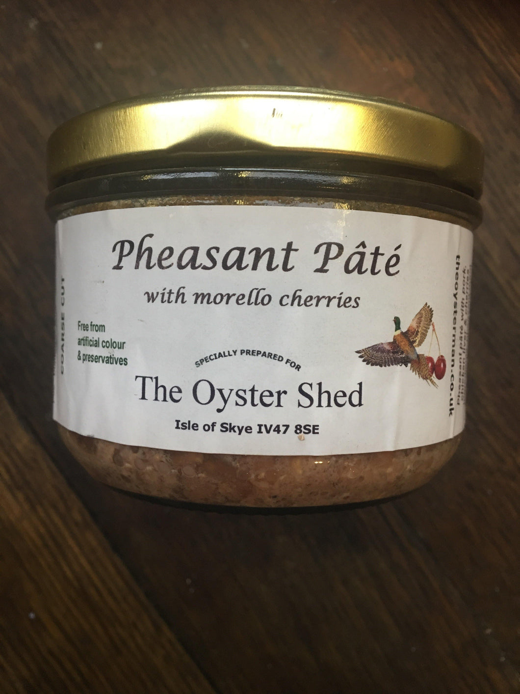 Pheasant Pate - The Oyster Shed