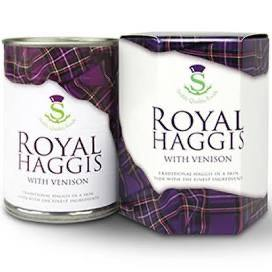 Royal Haggis Gift Tin - The Oyster Shed