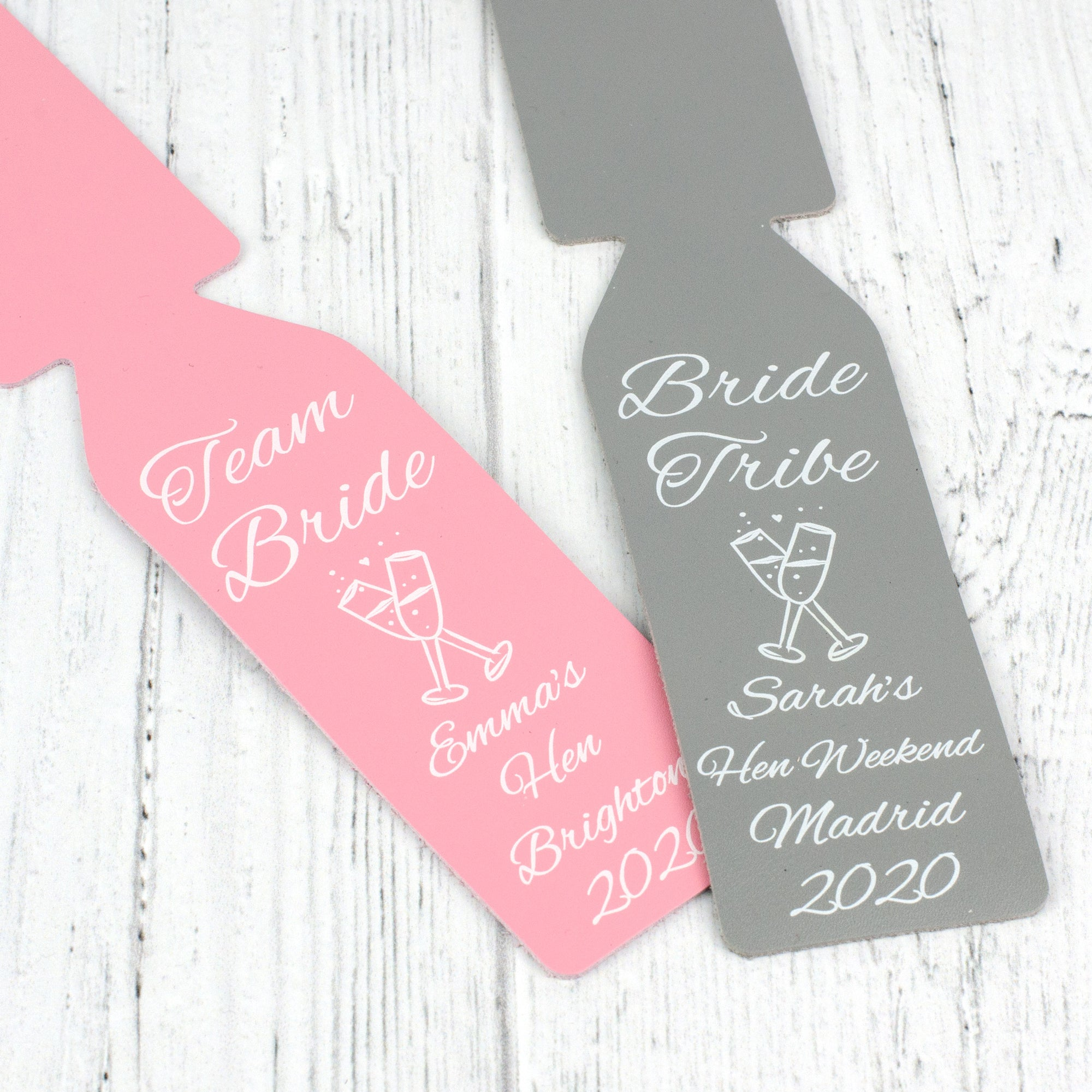 bride tribe luggage tag