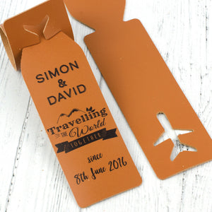 travelling together luggage tag