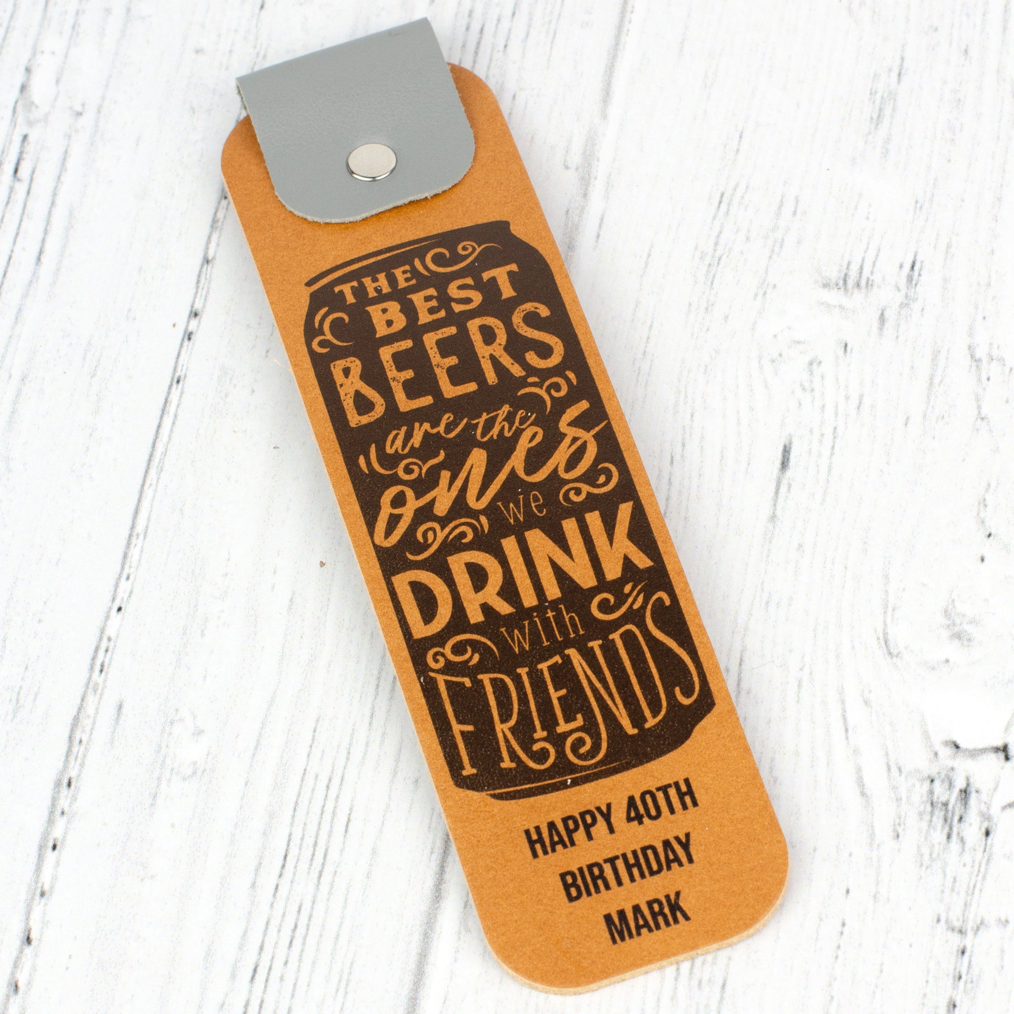 beers with friends bookmark