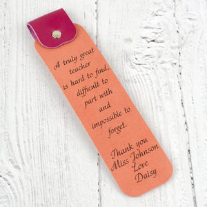 Great teacher bookmark