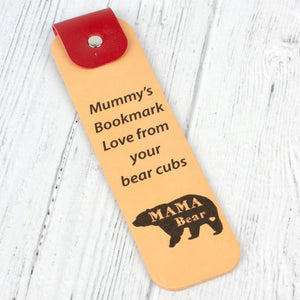 mama bear bookmark