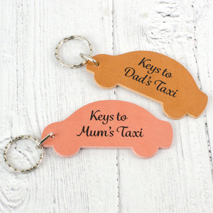 personalised car keyring