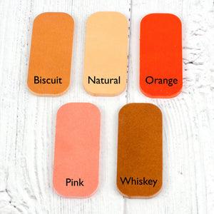 leather keyring colours