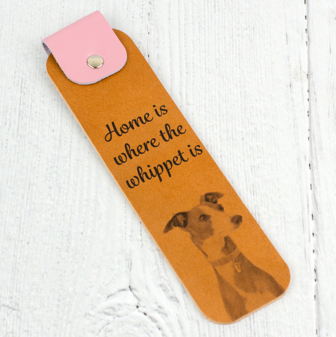 Whippet Bookmark