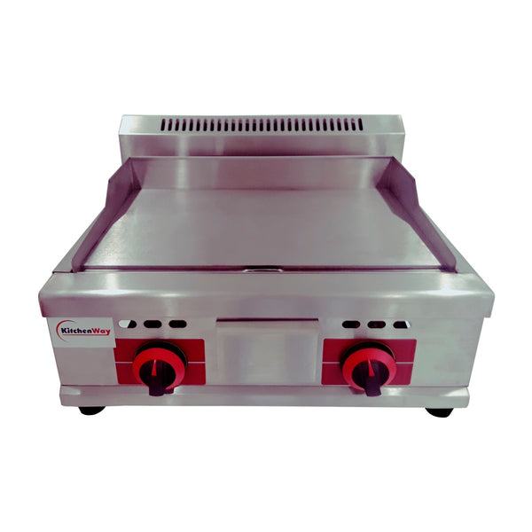 Kitchenway- Gas Griddle, Commercial Use, Stainless Steel