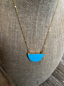 Blue Moon Choker Necklace