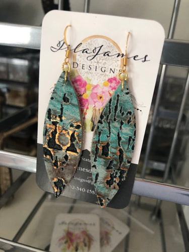 Lake Night Earrings