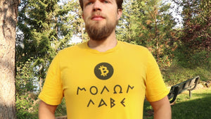 Bitcoin Malon Labe (Come & Take It!) T-Shirt