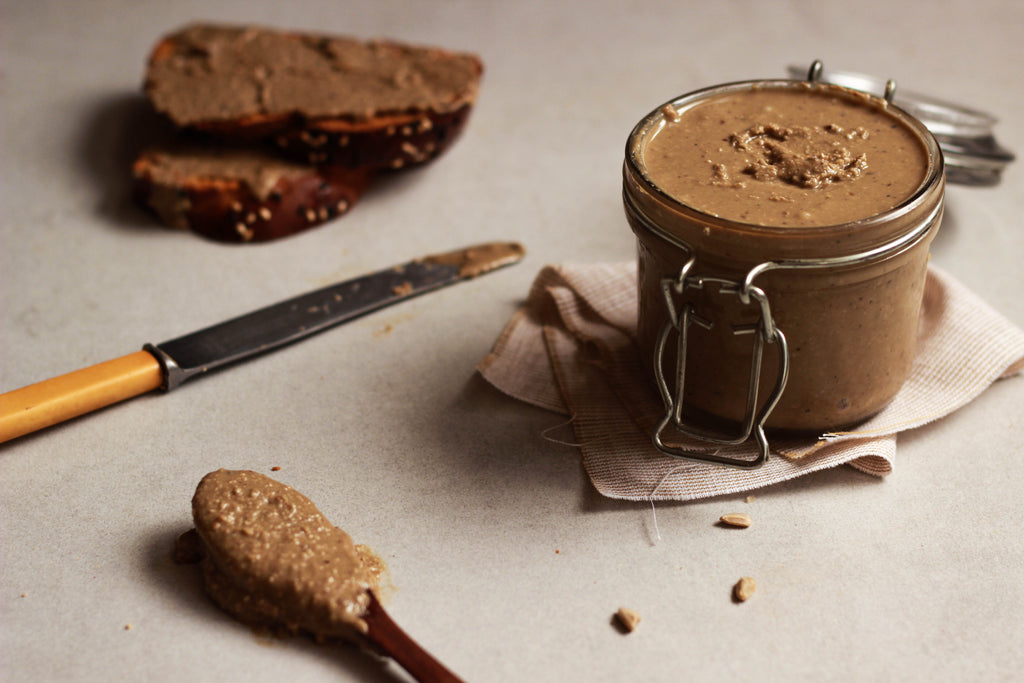 Roasted sunflower seed butter
