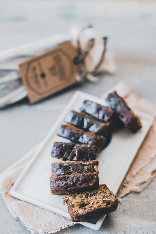 Espresso banana tea bread - Sustenance Artisan Food LLP
