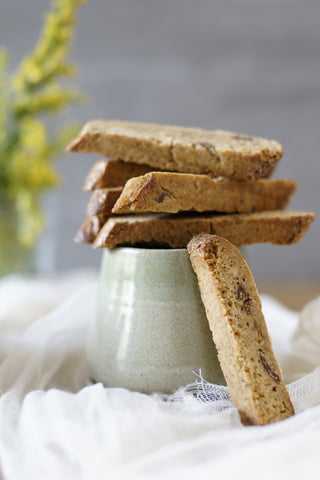 Fig walnut biscotti - Sustenance Artisan Food LLP