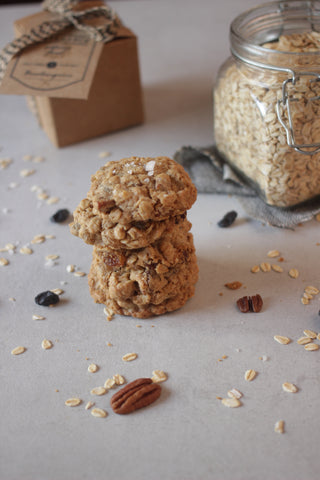 Oatmeal raisin pecan cookies - Sustenance Artisan Food LLP
