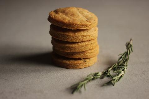 Parmesan shortbread cookies - Sustenance Artisan Food LLP