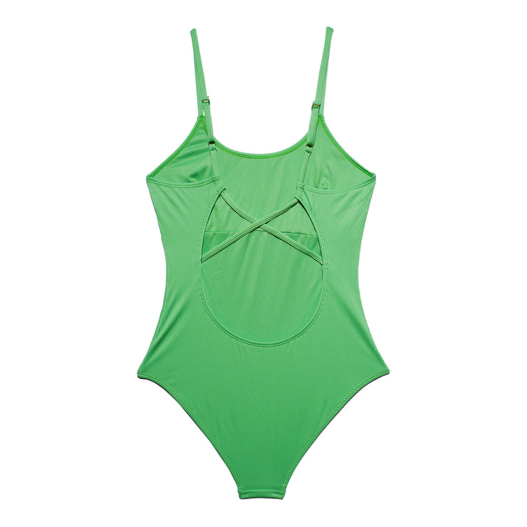 ADRIANNA MATERNITY SWIMSUIT LIME