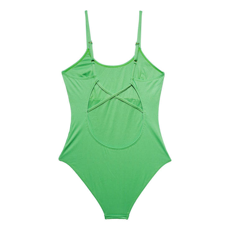 ADRIANNA SWIMSUIT LIME