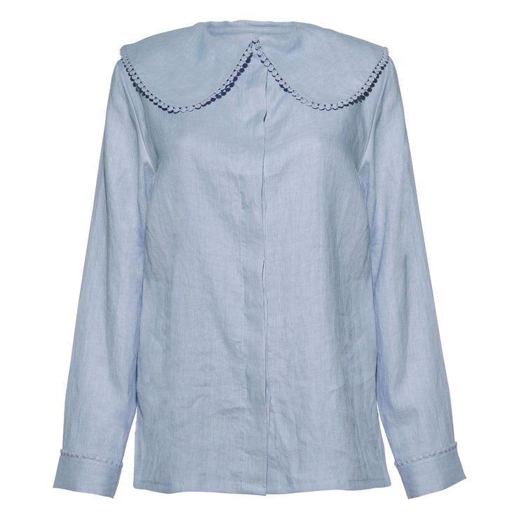 CAROLINE SHIRT LIGHT BLUE