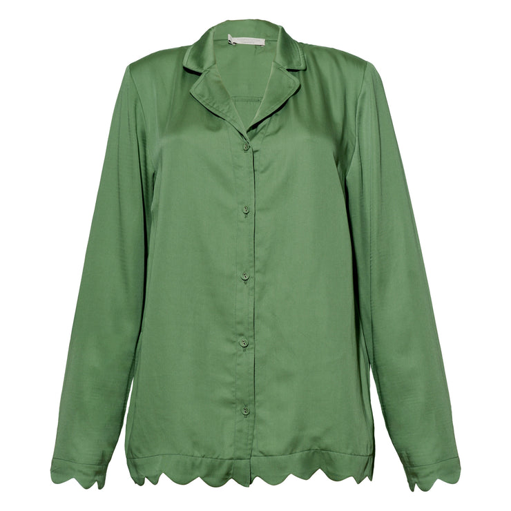 JANE SHIRT GREEN