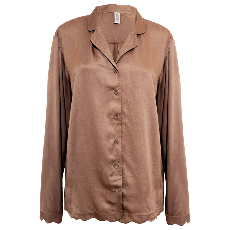 JANE SHIRT WARM BEIGE