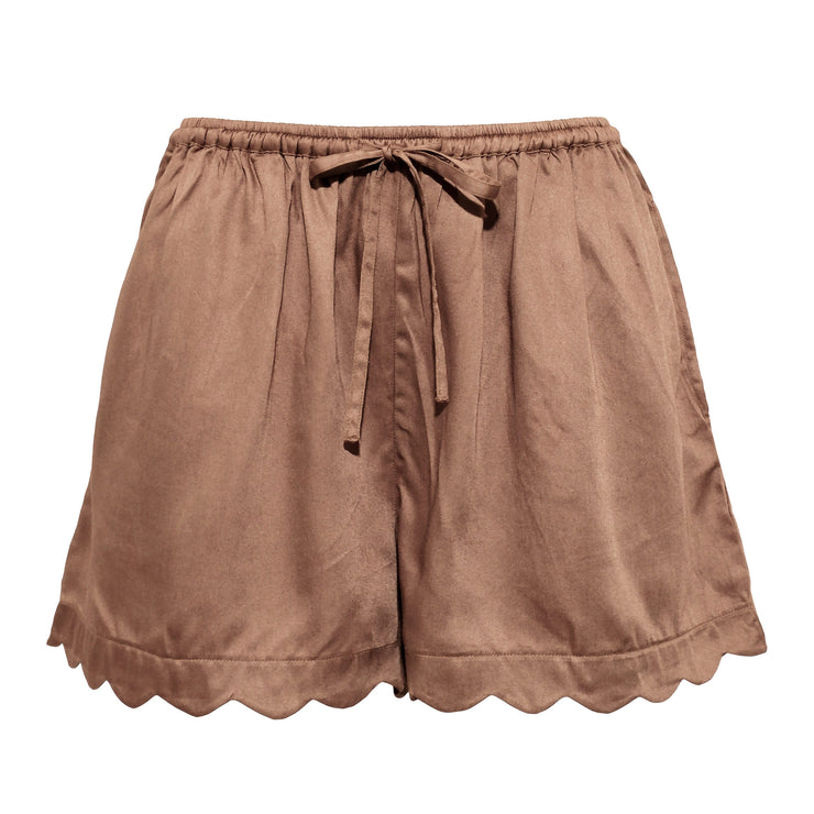JANE SHORTS WARM BEIGE