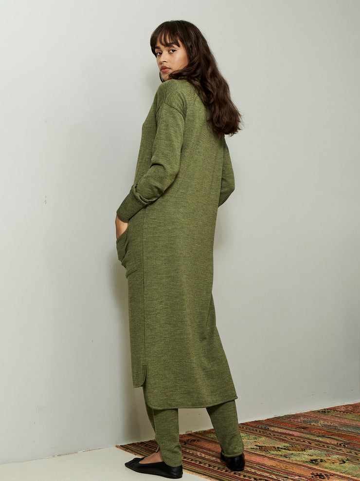 KIRSTY DRESS GREEN